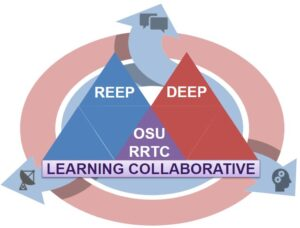 The OSU RRTC Learning Collaborative consists of the Research Experiences Expert Panel and the Disability Experiences Expert Panel